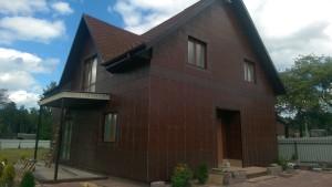 Монтаж вентилируемого фасада из керамогранита в Беларуси