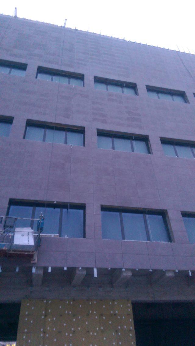 Монтаж вентилируемого фасада в Могилеве